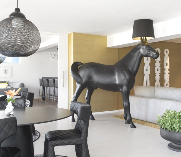 Horse Lamp by the Swedish design group Front2