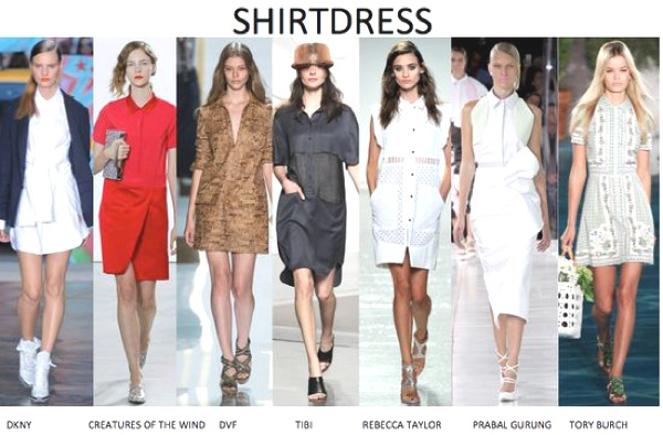 Hot new Trend the shirtdress
