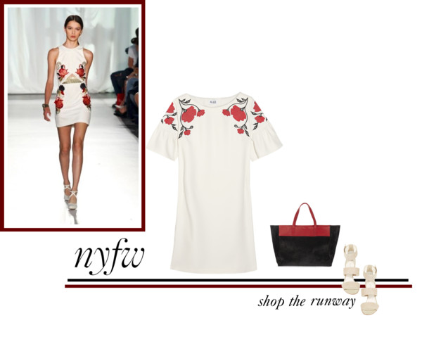 Icelle New York Fashion Week collag