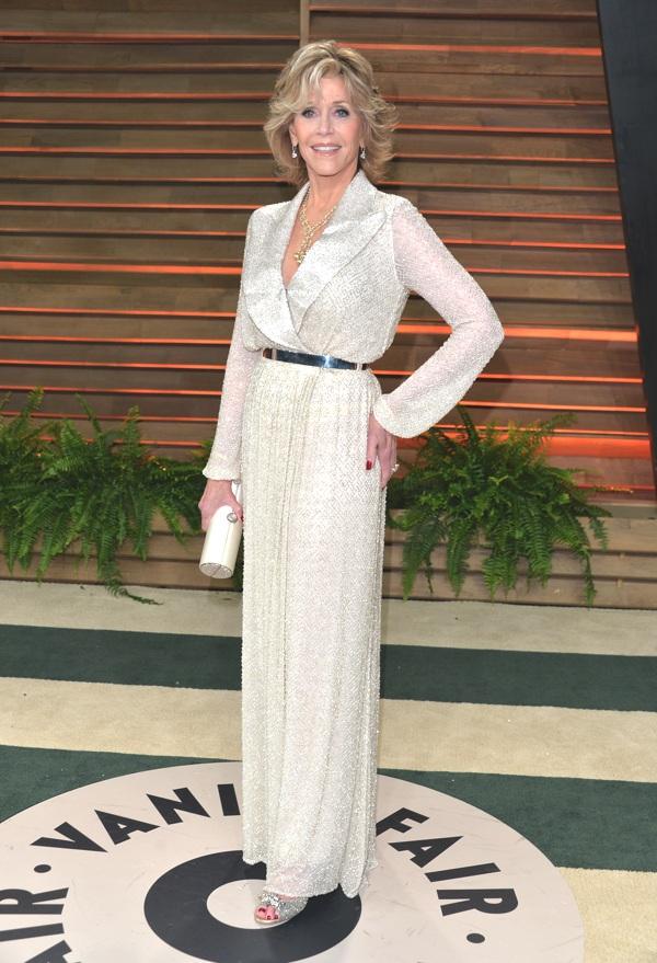 Jane Fonda wearing Cho