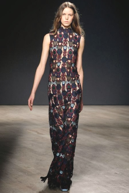 Mary Katrantzou Fall 2014- The Day After Digital Prints