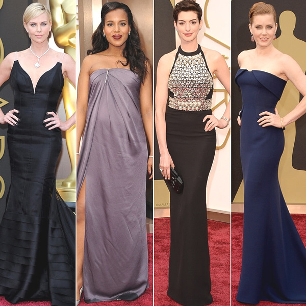 Charlize Theron, Kerry Washington, Anne Hathaway, Amy Adams Oscars 2014