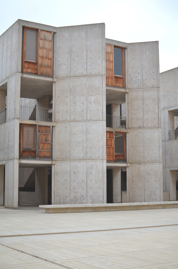 Salk Institute building by