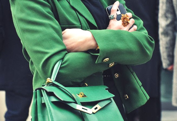 St Patrick day green hermes