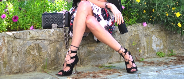 Sante Shoes lace up sandals