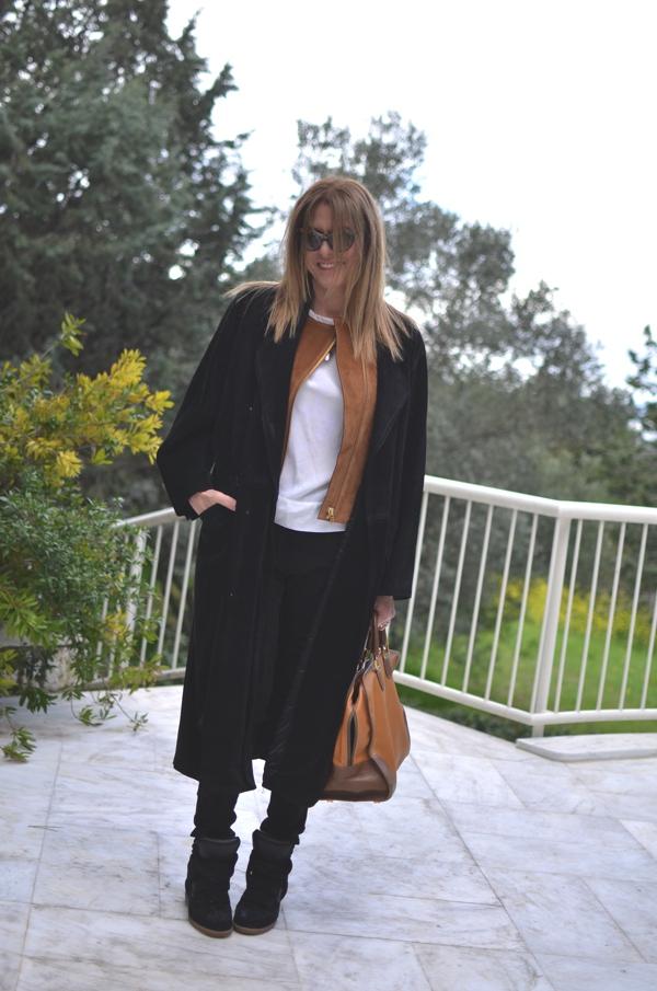 TrendSurvivor Street Style Outfit Leather Jacket14