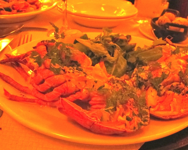 balthazar London lobster