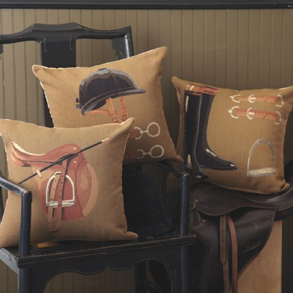 horse inspired pillows