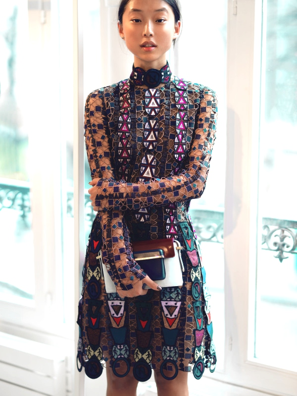 mary-katrantzou-Margaret Zhang blogger00