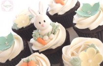 Happy Easter Chic Cupcakes