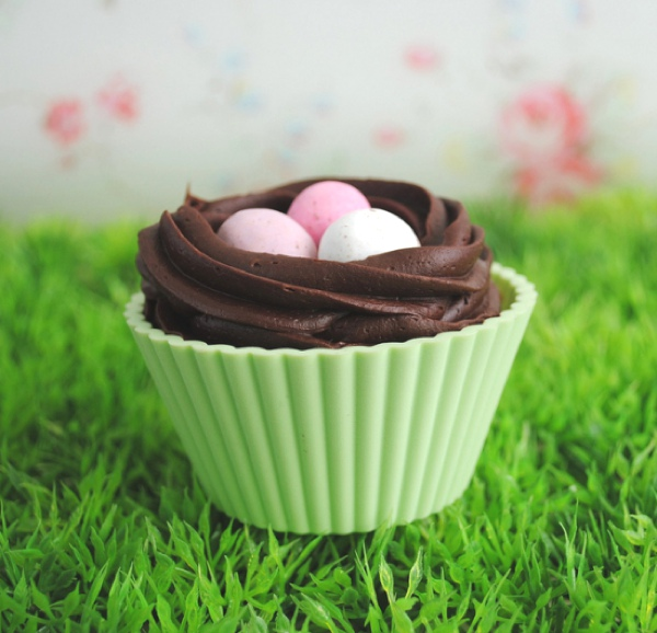 Easter inspired Cupcakes eggs