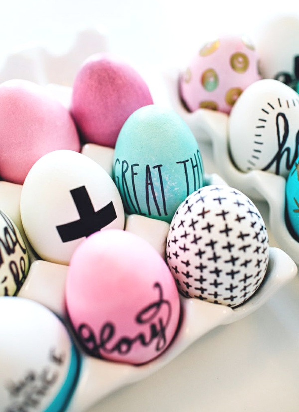 Inspiring ideas Easter Eggs Decoration written