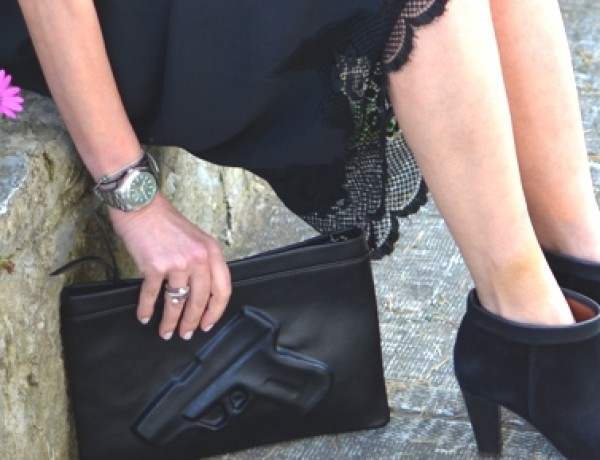 Limited edition pistol clutch Isabel Marant shoes