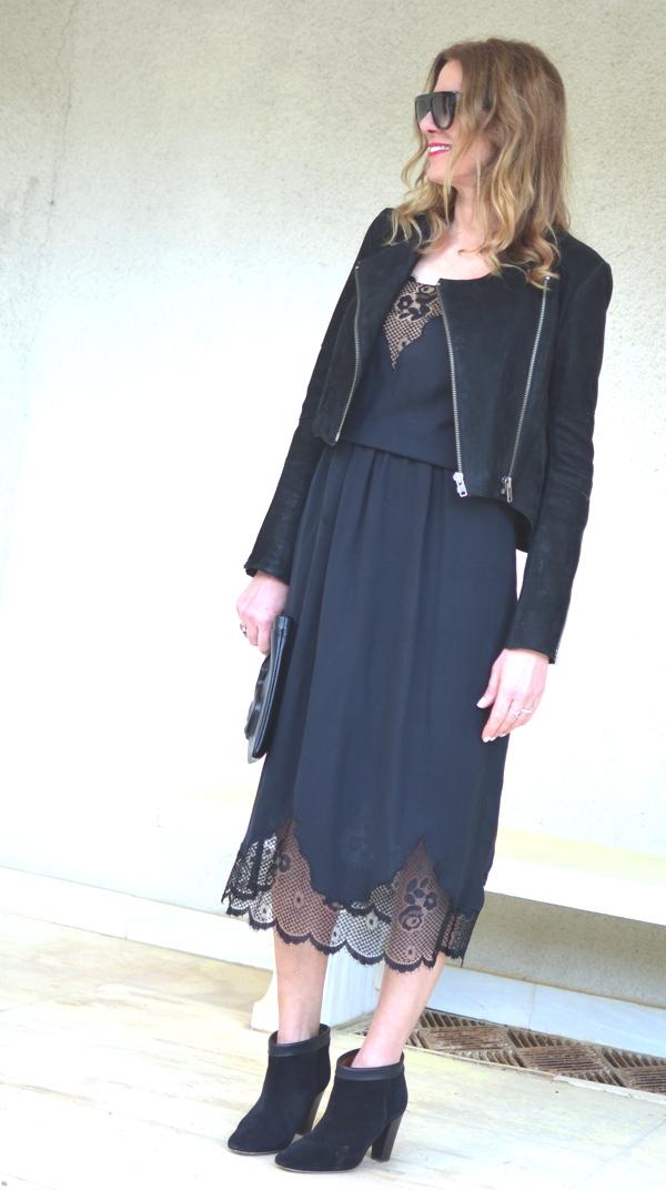 Street style lace dress SS 2014