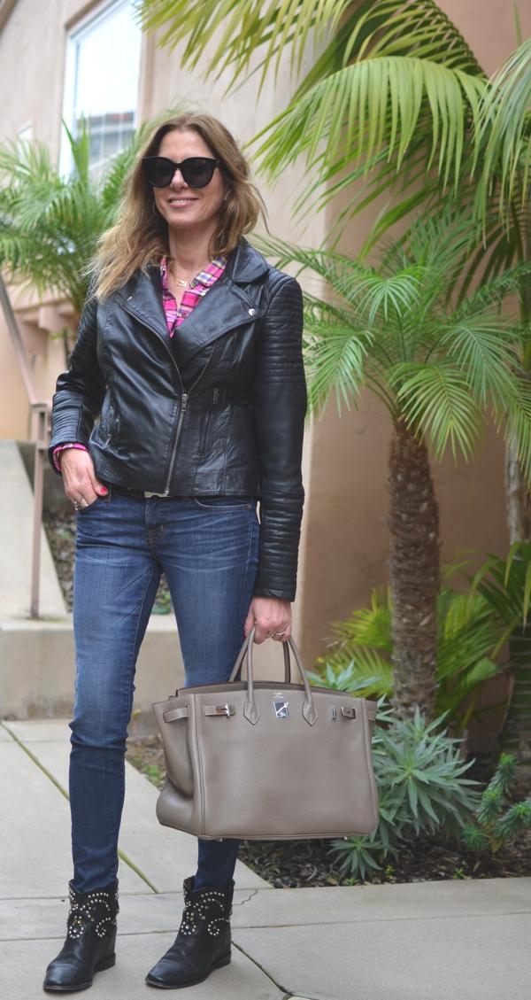 Tendsurvivor Street Style Plaid, Jeans Boots Ranch Style01