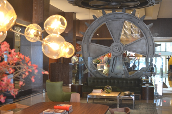 The Joule hotel lobby