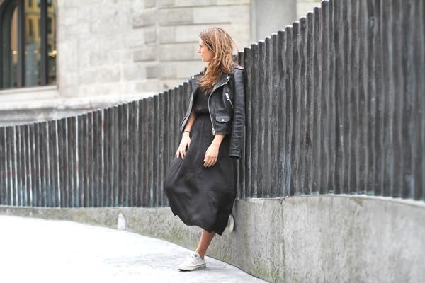 clochet-streetstyle-outfit-mango-leather-biker-jacket-converse-hm-tren-midi-dress-3