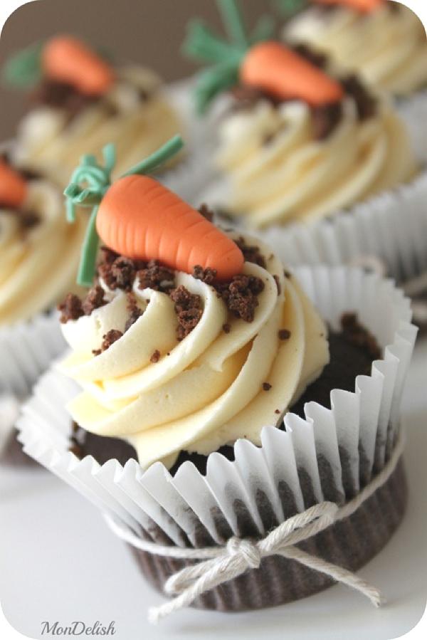 cupcakes carrot