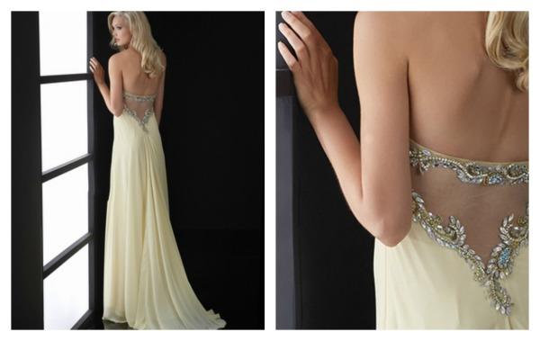dress prom nude