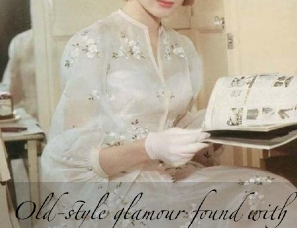 high society film 1956 grace kelly wedding dress vintage 50s tea