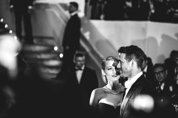 Blake Lively and Ryan Reynolds by Vincent Desailly Cannes Festival