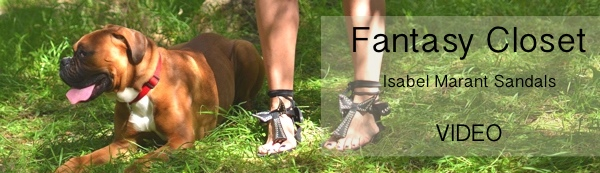 Fantasy Closet Isabel Marant edris sandals lace up Video