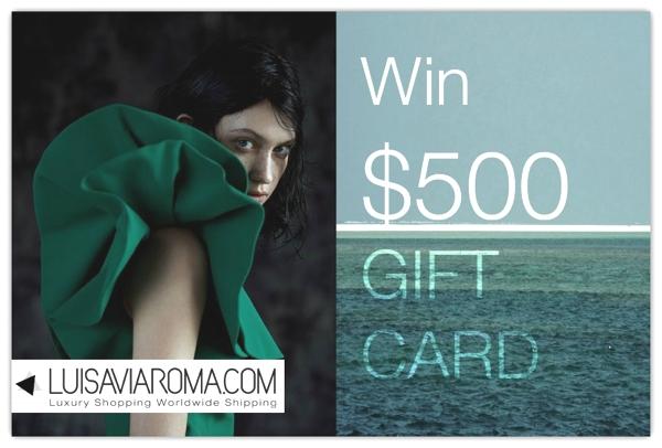 $500 giveaway Trendsurvivor X Luisaviaroma.com