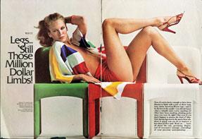 Griscom in Cosmopolitan, 1977