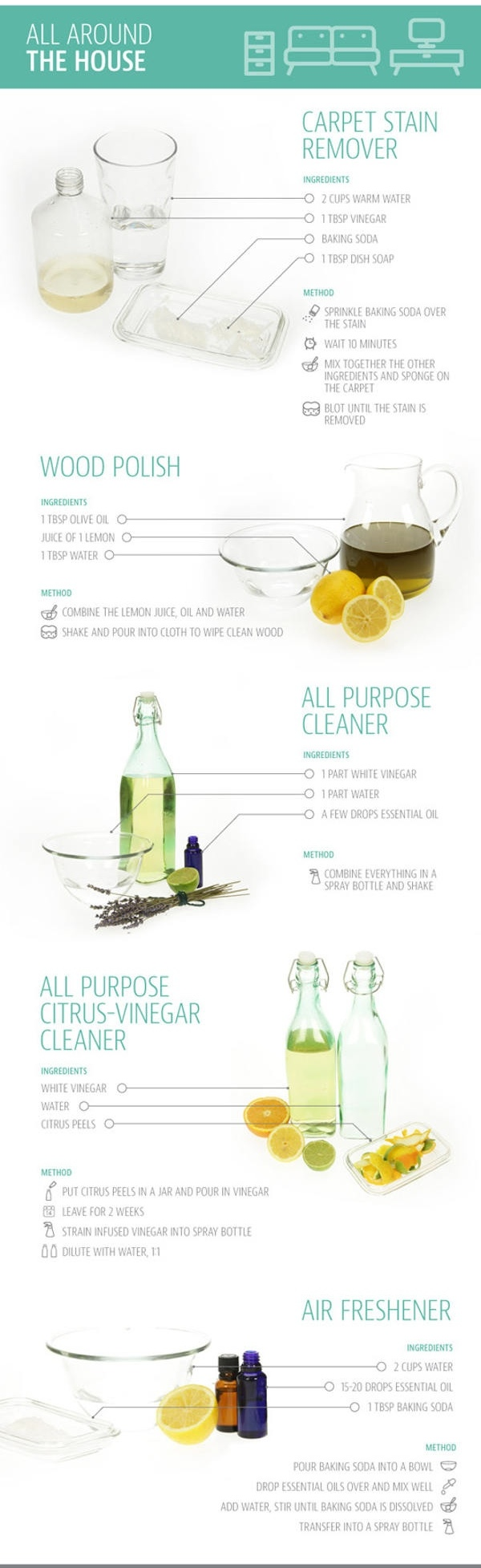 Natural Cleaning Products instructions