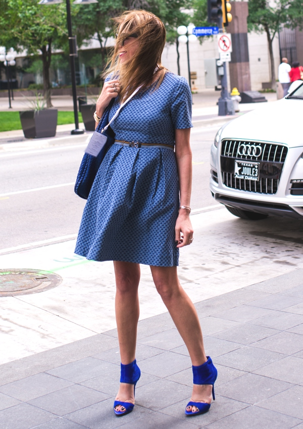 H and M Trend denim dress