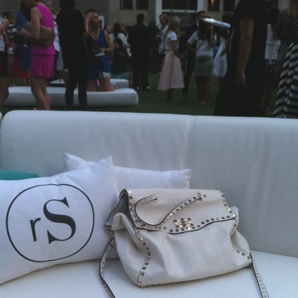 Kate Spade party Valentino bag