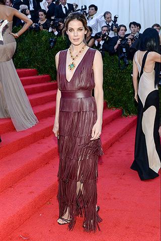 Michelle Monaghan, in custom Altuzarra, with Pomellato jewels.