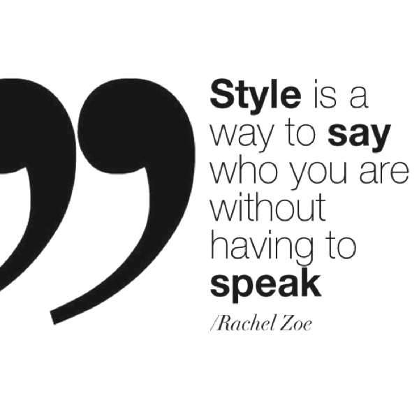 Quotes about style