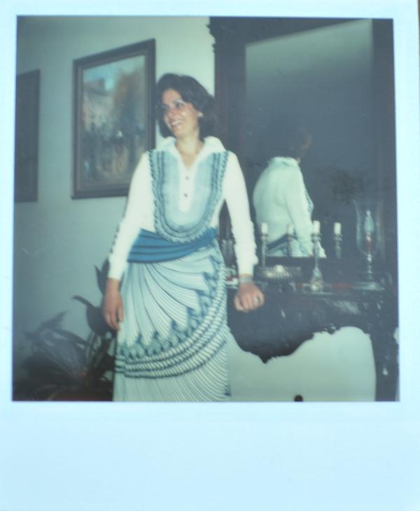 Roberta di Camerino dress Niki Papaioannou