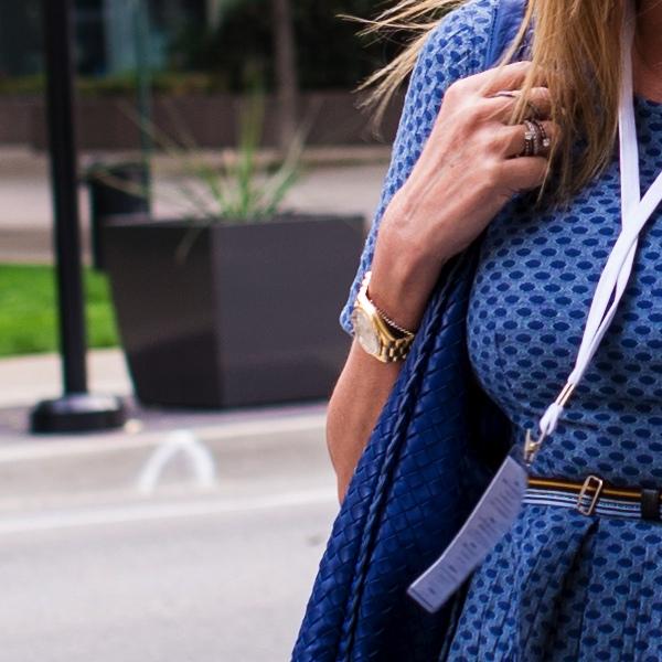 Rolex watch Jeans H&M Trend dress