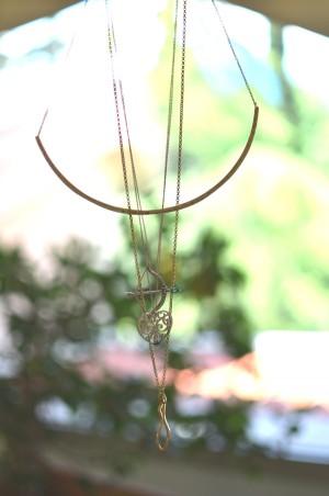 Stacking necklaces Gorjana Taner Necklace