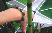 Paradise Green beaded Bracelet