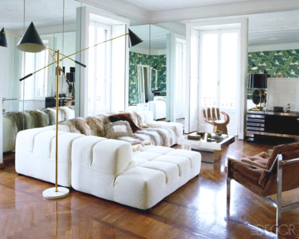 banana leaf living room