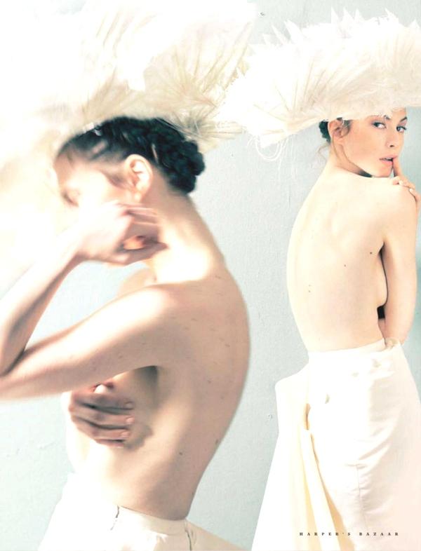 elettra-wiedemann Elettra Wiedemann In Harper's Bazaar Russia