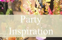 PS- Party Inspiration| Dress Code and Birthday Party Decor Ideas