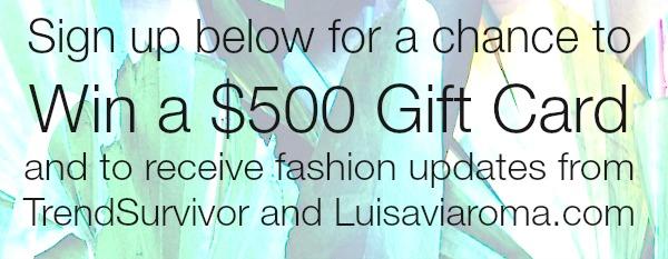 Trendsurvivor X Luisaviaroma gift card