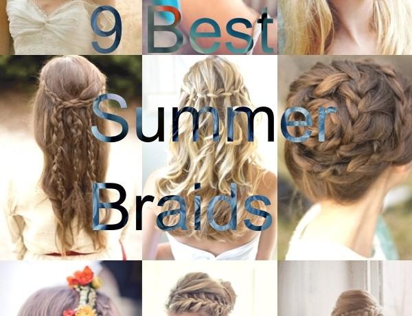 9 Best Summer Braids