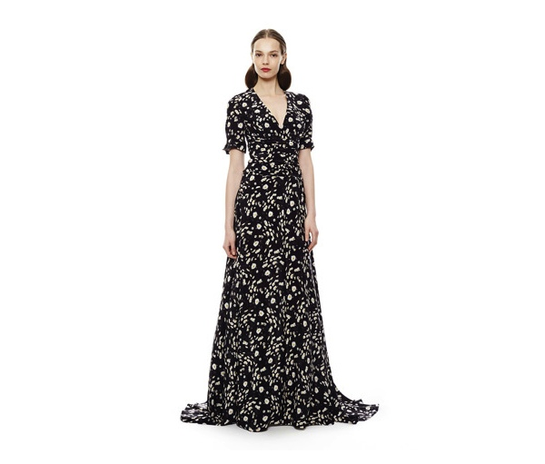 Carolina Herrera daisy maxi dress