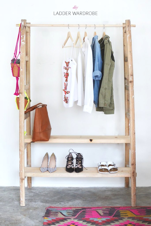 DIY lader storage. Smart Deco  Four Unexpected Storage Ideas   TrendSurvivor