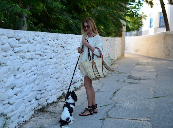 Dogs paros street style outfit