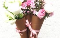 DIY- Floral Gift Cones