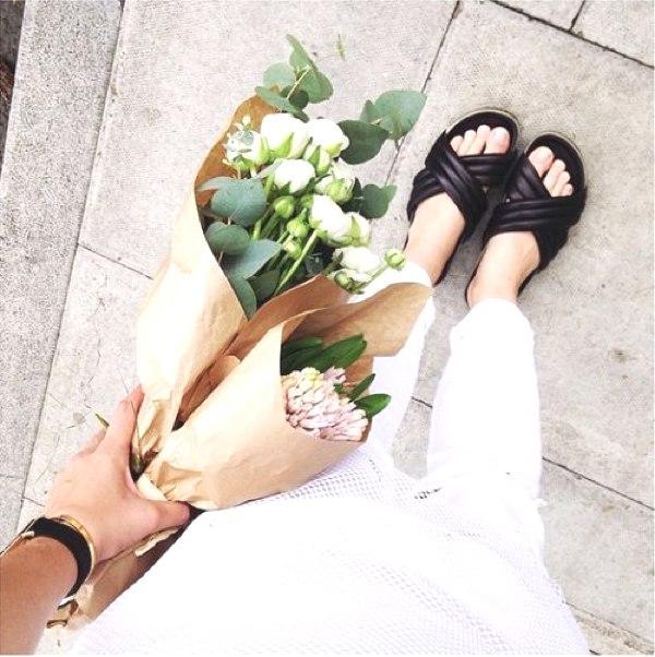 Isabel marant sandals total white