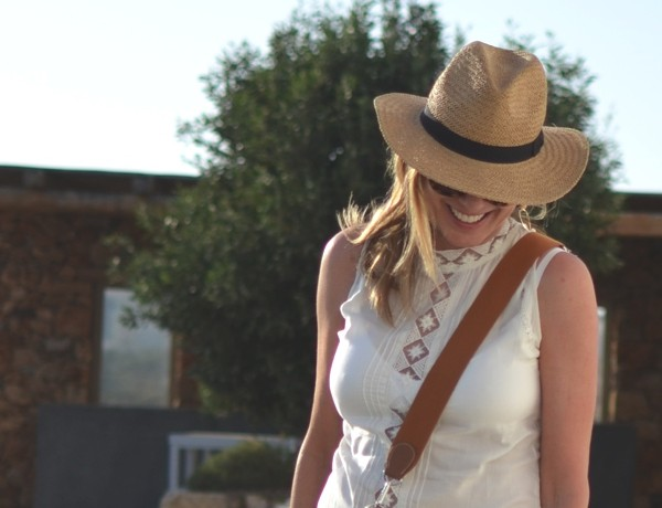 Leather meets Lace and a Straw Hat09