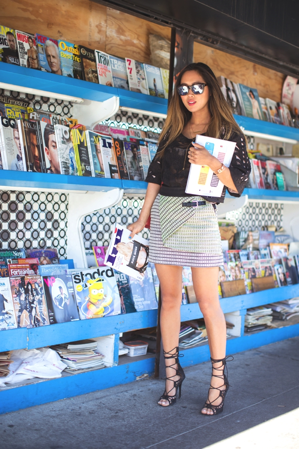 Los Angeles Aimee Song Outfits00