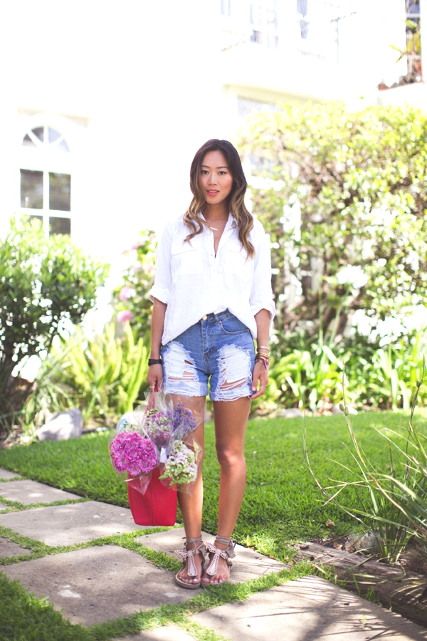 Los Angeles Aimee Song Outfits06